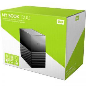 هارد اکسترنال وسترن دیجیتال مدل My-Book-Desktop-DUO-6TB