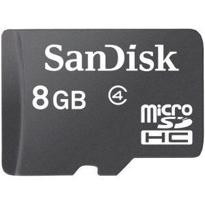 کارت حافظه microSDHC سنديسک مدل Sdsdq-a46-8GB