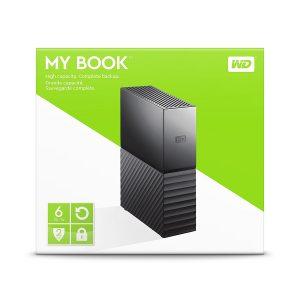 هارد اکسترنال وسترن دیجیتال مدل My-Book-Desktop-6TB