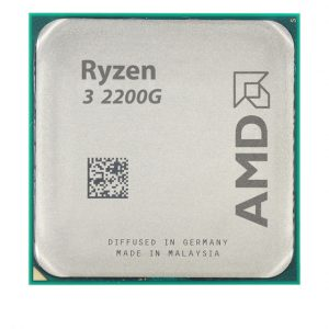 سی پی یو ۴ هسته ای AMD مدل Ryzen-3-2200G