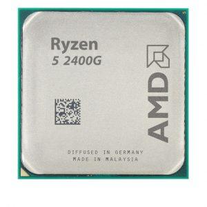 سی پی یو 4 هسته ای AMD مدل Ryzen-5-2400G