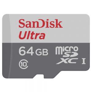کارت حافظه microSDXC سنديسک مدل Ultra-64GB
