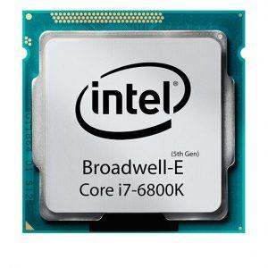 سی پی یو ۶ هسته ای INTEL مدل Broadwell-Core-i7-6800K