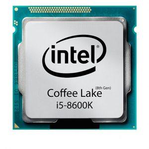 سی پی یو ۶ هسته ای INTEL مدل Coffee-Lake-Core-i5-8600K