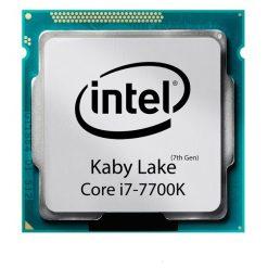 سی پی یو 4 هسته ای INTEL مدل Kaby-Lake-Core-i7-7700K