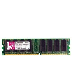 رم کامپیوتر KingSton مدل KVR-DDR-400MHz-DIMM-Desktop-512MB