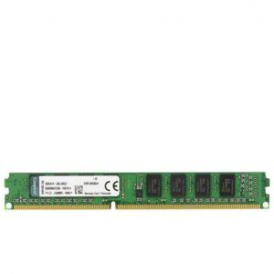 رم کامپیوتر KingSton مدل KVR-DDR3-1333MHz-CL9-DIMM-Desktop-4GB
