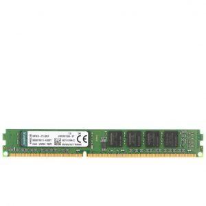 رم کامپیوتر KingSton مدل KVR-DDR3-1600MHz-CL11-U-DIMM-Desktop-4GB