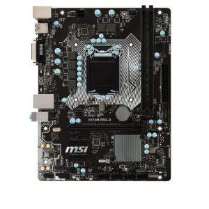 مادربرد MSI مدل H110M-PRO-D-Intel LGA 1151
