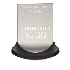 فلش SANDISK مدل Ultra-Fit-SDCZ43-16GB